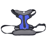"Reflective Control Handle Harness 30-43"" Blue Xlarge"