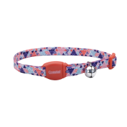 Safe Cat Breakaway Collar Multi Triangle 3/8x12""