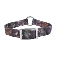 "Remington DblPly Nyl CenRingSafety Collar 1x22"" Mossy"