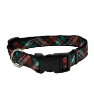 "Celebration Christmas Dog Collar 1""-26"