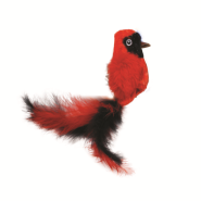 Life-like Cat Toys Red Bird