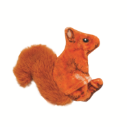 Life-like Cat Toys Orange Squirrel