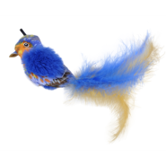 Life-like Cat Toys Blue Bird