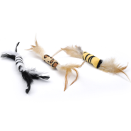 Feather Toy Bulk Bin- 51 Pcs