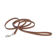 "CircleT Oak Tanned Leather Leash 3/8""x6"