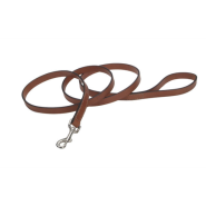 "CircleT Oak Tanned Leather Leash 3/4""x6"
