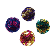 "Rascals Cat 1.5"" Krinkle Balls 4 Pack"