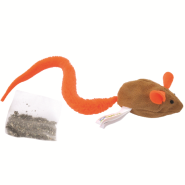 Turbo Tail Catnip Belly Mouse Cat Toy