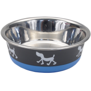 Maslow Design Bowl Pup Blue/Grey 13 oz
