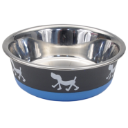 Maslow Design Bowl Pup Blue/Grey 28 oz