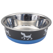 Maslow Design Bowl Pup Blue/Grey 54 oz