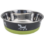 Maslow Design Bowl Pup Green/Grey 54 oz