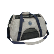 Life is Good Comfort Carrier Heather Grey 19L x 10W x 13H