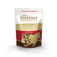 Instinct Dog Freeze Dried Beef Boost Munchies 4 oz