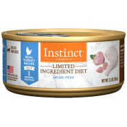 Instinct Cat GF LID Cans CageFree Turkey 12/5.5 oz