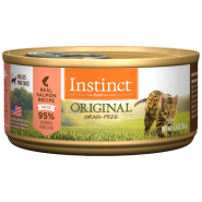 Instinct Cat Original GF WildCaught Salmon 12/5.5 oz Cans