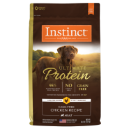 Instinct Ultimate Protein Dog Chicken 20 lb