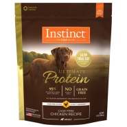Instinct Ultimate Protein Dog Priced Trials Chicken 12/12 oz