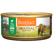 Instinct Cat Original GF GrassFed Lamb 12/5.5 oz Cans
