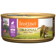 Instinct Cat Original GF FarmRaised Rabbit 12/5.5 oz Cans