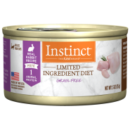 Instinct Cat GF LID Cans FarmRaised Rabbit 24/3 oz