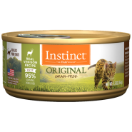 Instinct Cat Original GF GrassFed Venison 12/5.5 oz Cans