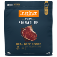 Instinct Raw Signature Dog Natural Beef Bites 4 lb