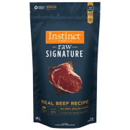Instinct Raw Signature Dog Natural Beef Patties 6 lb