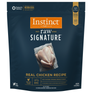 Instinct Raw Signature Dog CageFree Chicken Bites Trial 8oz