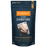 Instinct Raw Signature Dog CageFree Chicken Patties 6 lb