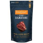 Instinct Raw Signature Dog GrassFed Lamb Patties 6 lb