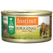 Instinct Cat Original GF GrassFed Lamb 24/3 oz Cans