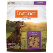 Instinct Biscuits GF Dog Treats Rabbit & Apples 10 oz