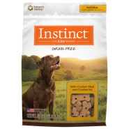 Instinct Biscuits GF Dog Treats Chicken & Cranberries 20 oz