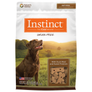 Instinct Dog Biscuit Treats Duck Sw Potato 20 oz