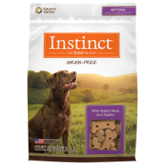 Instinct Biscuits GF Dog Treats Rabbit & Apple 20 oz