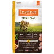 Instinct Cat Original GF Kibble CageFree Chicken 2.2 lb