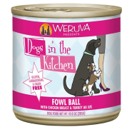 Dogs in the Kitchen Fowl Ball 12/10 oz Cans