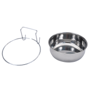 Bergan Stainless Kennel Bowl 4 cup