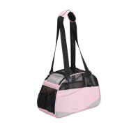 Bergan Voyageur Carrier Pink/Gray Small