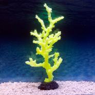 Sporn Yellow Sinularia Coral L Glow in the Dark