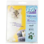 SoftClaws Feline Small Green