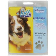 SoftClaws Dog XXXLarge Clear