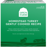 Open Farm Dog Gently Cooked Turkey 6/12 oz
