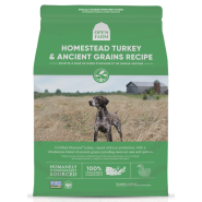 Open Farm Dog Homestead Turkey & Ancient Grain 4 lb