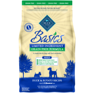Blue Basics LID GF Dog Adult Duck 4 lb