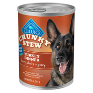 Blue Dog Chunky Stew Turkey 12/12.5 oz