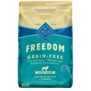 Blue Freedom GF Dog Adult Large Breed Lamb 24 lb