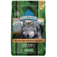 Blue Wilderness Dog Adult Rocky Mtn Recipe Rabbit 22 lb