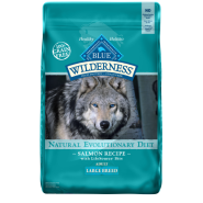 Blue Wilderness Dog GF Adult Large Breed Salmon 24 lb